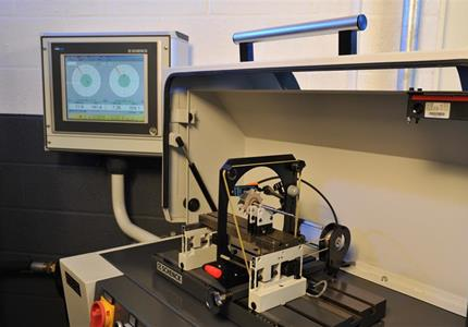 balancing machine for single components