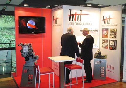 "BTD exhibits on Aachen Colloquium ""Automobile and Engine Technology"" - 10th-12th October 2016 - BOOTH 55"