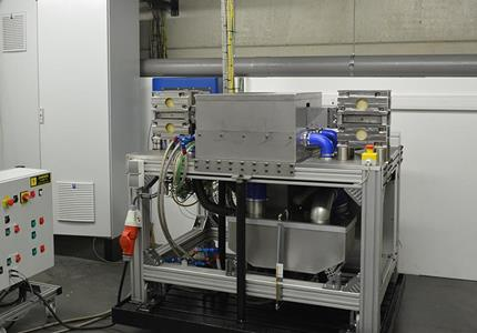 Bearing shell test bench - Bearing shell test bench - Tribology